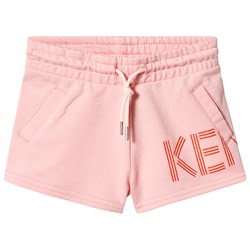 Kenzo Middle Pink Branded Shorts