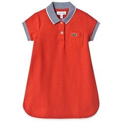 Lacoste Red Polo Dress