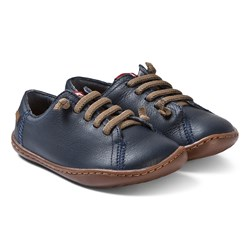Camper Navy Peu Cami Leather Sneakers