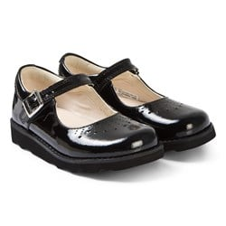 Clarks Crown Jump Mary Janes Black Patent