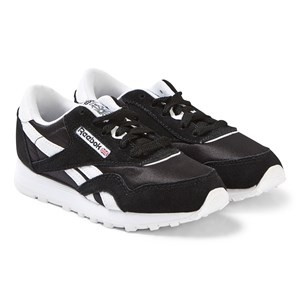 Image of Reebok Black Classic Nylon Sneakers 30 (UK 12) (3125329887)