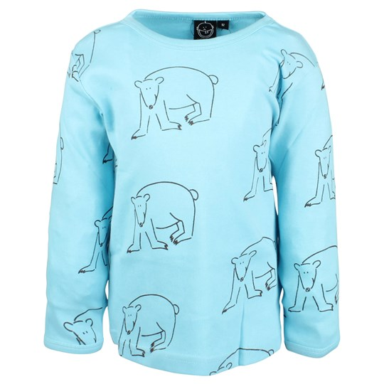 Ida T T-Shirt Ice Blue Polar Bear Blue