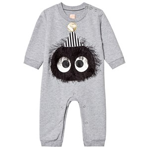 Image of Wauw Capow Bambino One-Piece Grey 68 cm (4-6 mdr) (3125356485)