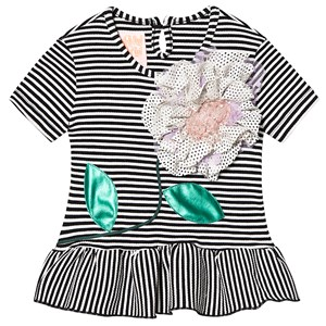 Image of Wauw Capow Elly Summer Top Black/White Striped 4-5 years (1296378)