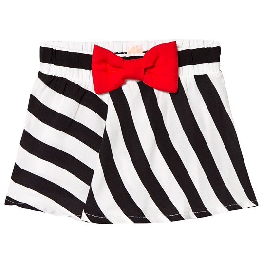 Wauw Capow Chili Skirt Black/White Striped Black and White striped
