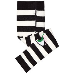 Wauw Capow Bowie Leggings Black/White Striped