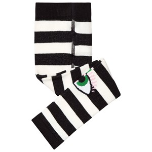 Image of Wauw Capow Bowie Leggings Black/White Striped 1-2 years (3125355561)