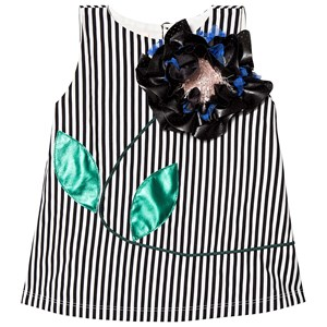 Image of Wauw Capow Fab Frida Black/White Striped 3-4 years (1296672)