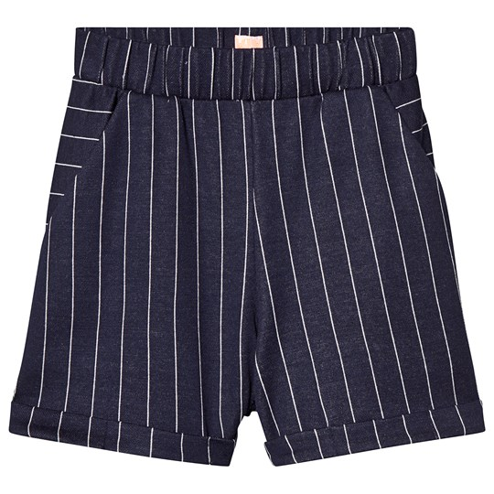 Wauw Capow Ciao Shorts Blue with White Stripes Blue with white stripes
