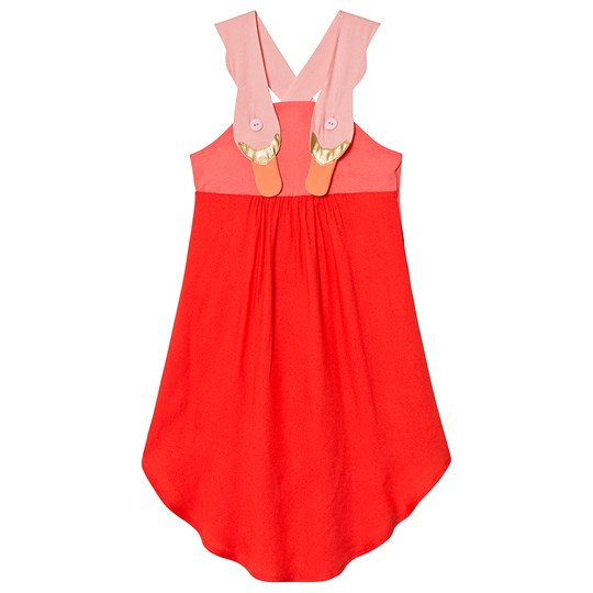 Wauw Capow Summer Dream Dress Red Red