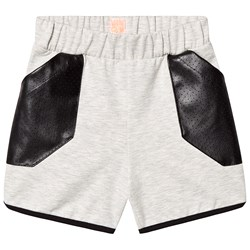 Wauw Capow Inside Out Shorts Grey/Black
