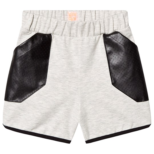 Wauw Capow Inside Out Shorts Grey/Black grey and black