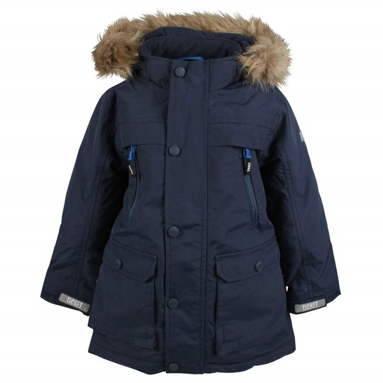 Ticket to heaven Maurice Coat Navy Blue