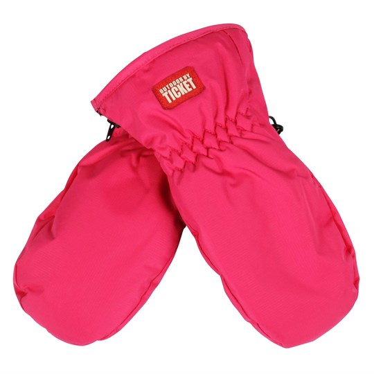Ticket to heaven Renny Mittens Beetroot Pink