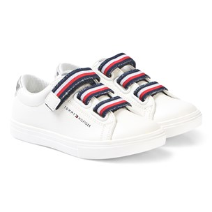 d16937921b27 Tommy Hilfiger. White Velcro Sneakers