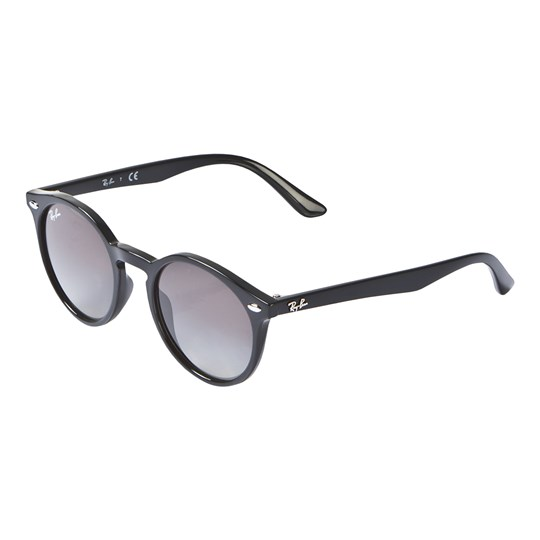 Ray-ban Round Junior Sunglasses Black/Grey 100/11
