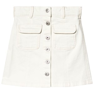 Les Coyotes De Paris Molly Denim Skirt Cream 8 år | Bluser |