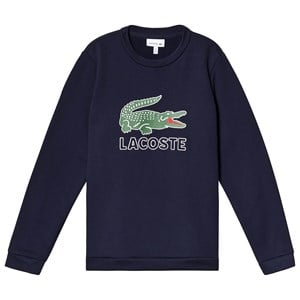 Image of Lacoste Big Logo Sweatshirt Navy 4 years (3125255715)
