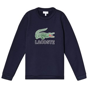 Image of Lacoste Big Logo Sweatshirt Navy 12 years (3125255725)