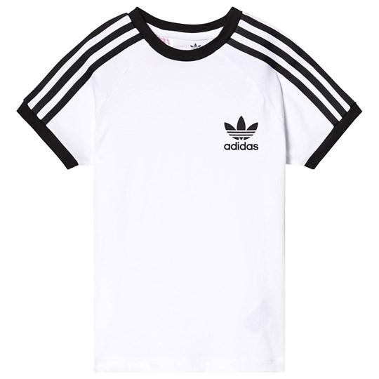 adidas Originals Branded T-Shirt White White/Black