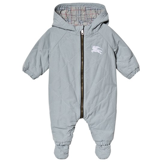 a403c40ec Burberry - Skyler Quilted Coverall Dusty Blue - Babyshop.com