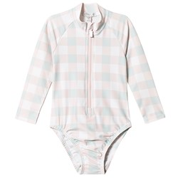 Livly Alessia Swimsuit Pink Plaid