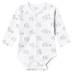 Image of Livly Animal Parade Baby Body White 1-3 Months (3125333995)