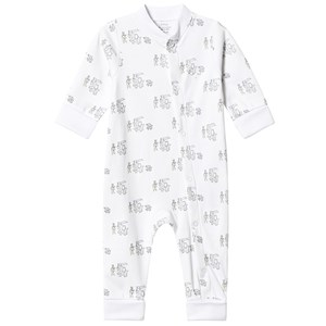 Image of Livly Animal Parade One-Piece White 12-18 Months (3125344213)