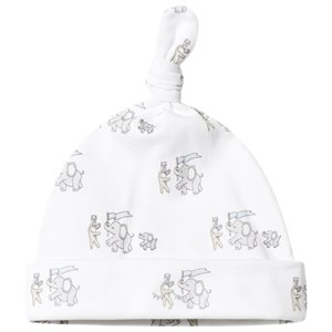 Image of Livly Animal Parade Tossie Hat White 1-3 Months (3125344233)