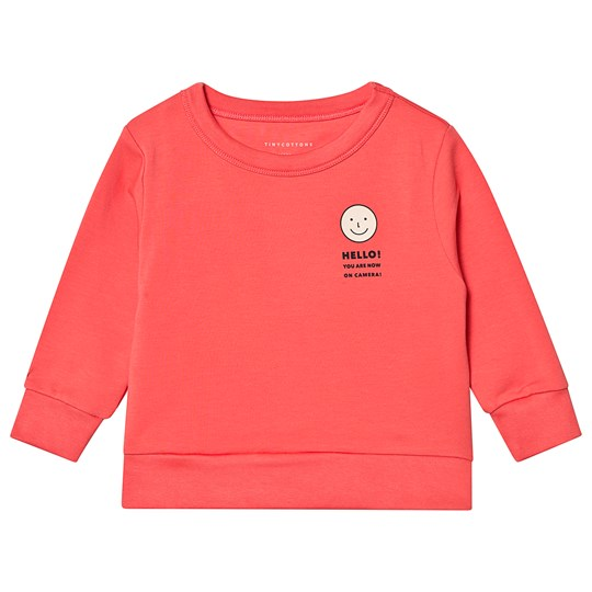 Tinycottons Smile Sweatshirt Light Red/Cream light red/cream