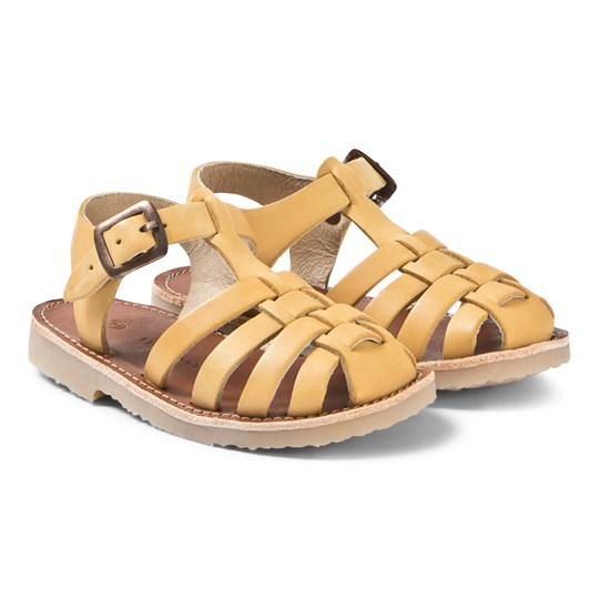 Tinycottons Braided Sandals Canary canary