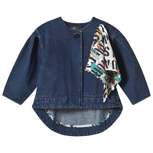Image of Wolf & Rita Amelia Coat Blue Denim 10 år (3125299795)