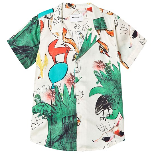 Wolf & Rita Bruno Shirt Snakes and Ladders SNAKES AND LADDERS