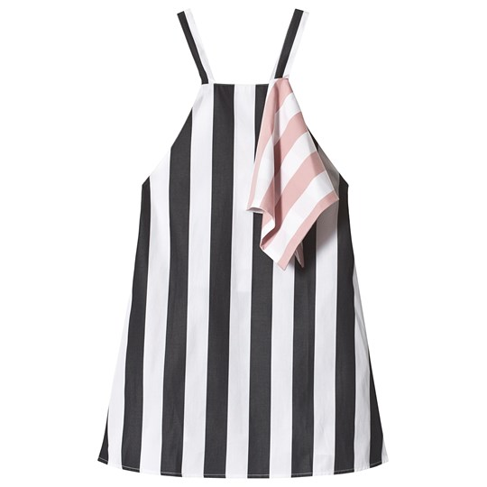 Wolf & Rita Mafalda Dress White Stripes WHITE STRIPES