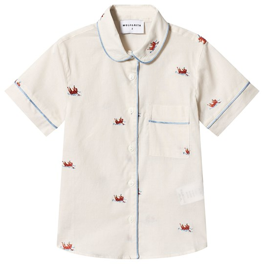 Wolf & Rita Viviana Blouse Boats and Roads BOATS AND ROADS