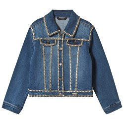 Guess Blue Studded Denim Jacket