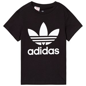 Image of adidas Originals Black Trefoil Logo Tee 10-11 years (146 cm) (3125331865)
