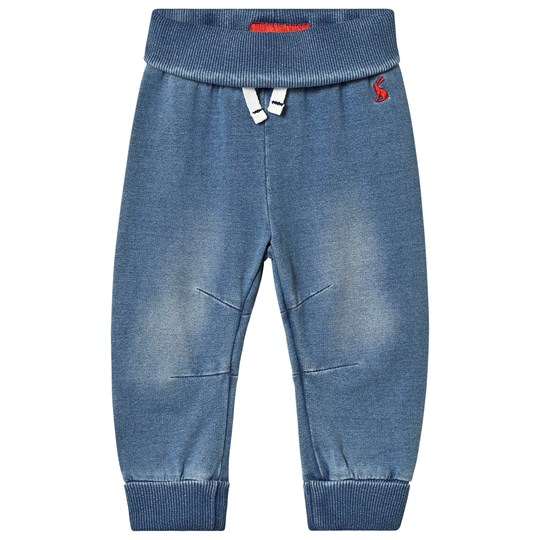 Tom Joule Blue Jersey Denim Pants Denim