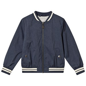 Image of Wheat Alfie Bomber Jacket Navy Melange 104 cm (3-4 år) (3125309405)