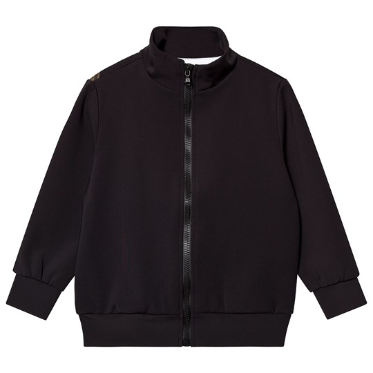 Fendi Black Branded Track Jacket F0QA1