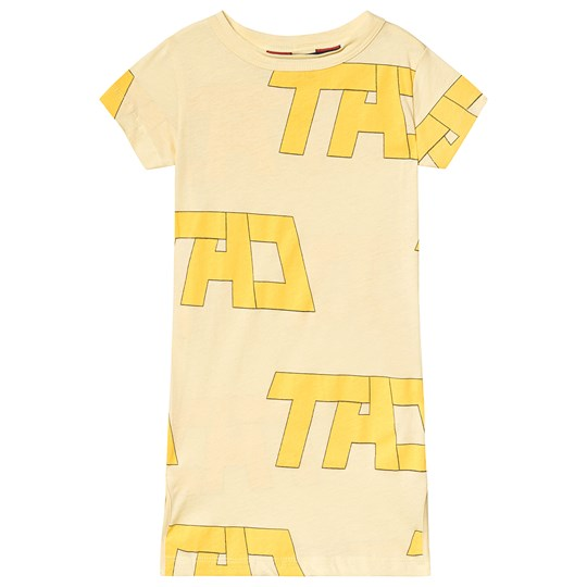 The Animals Observatory Gorilla Kids Dress Yellow Tao Yellow Tao
