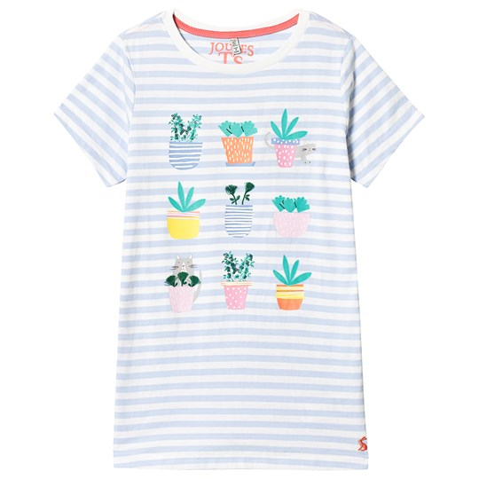 Tom Joule Blue and White Stripe Cactus Tee Blue Stripe CACTI