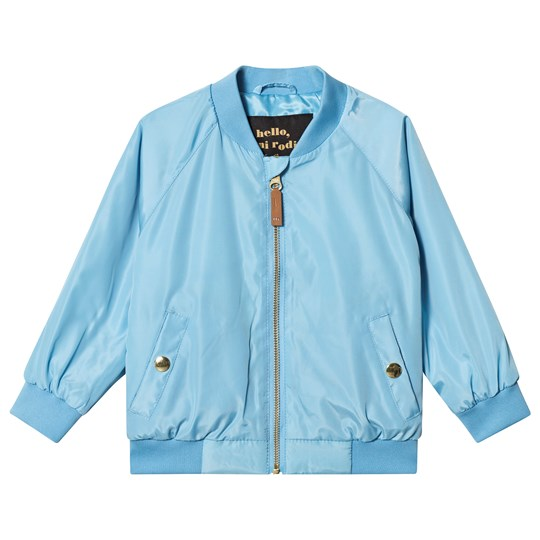 Mini Rodini Banana Baseball Jacket Light Blue Light Blue