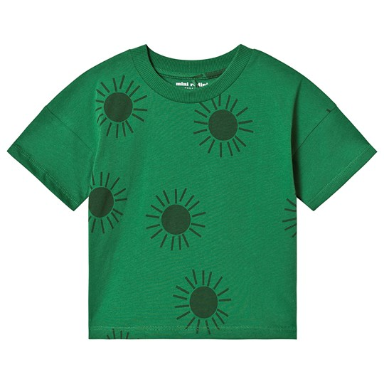 Mini Rodini Sun Short Sleeve Tee Green Green