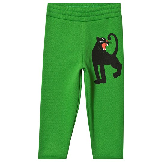 Mini Rodini Panther Sweatpants Green Green