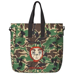 Mini Rodini Camo Gym Bag Green