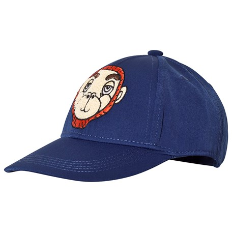 b7ab5a123be Mini Rodini. Monkey Cap Blue