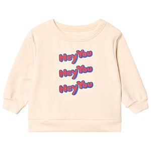 Image of Tinycottons Hey You Sweatshirt Cream/Red 10 år (3125346327)