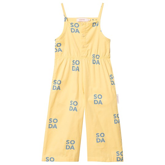 Tinycottons Soda Jumpsuit Canary/Sea Grey canary/sea grey