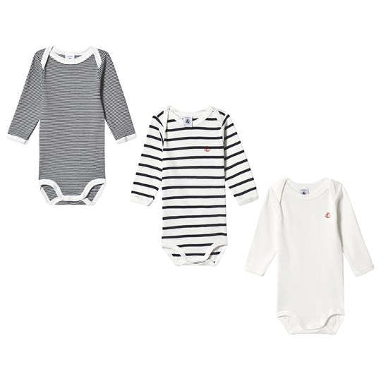 3 Pack Baby Bodies Off WhiteBlack